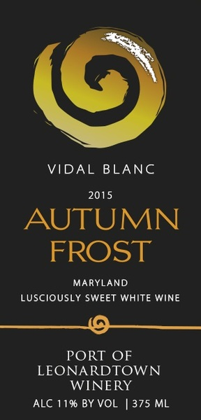 2015 Autumn Frost From Port of Leonardtown Winery
