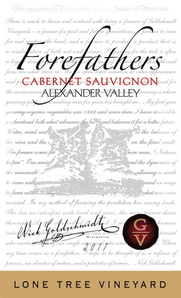 Product Image for 2017 Forefathers AV Lone Tree Vineyard Cabernet Sauvignon