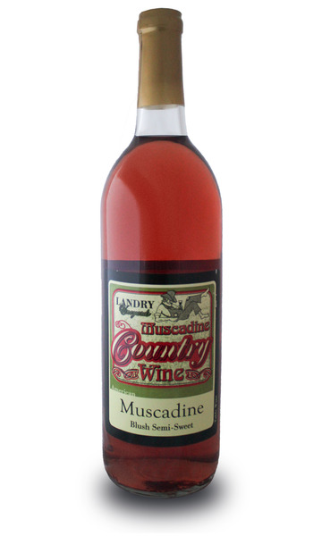 Product Image - Country Muscadine Blush Semi Sweet