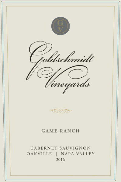 2016 GOLDSCHMIDT OAKVILLE GAME RANCH CABERNET SAUVIGNON