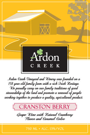 Cranston Berry (Semi-Sweet) OUT OF STOCK