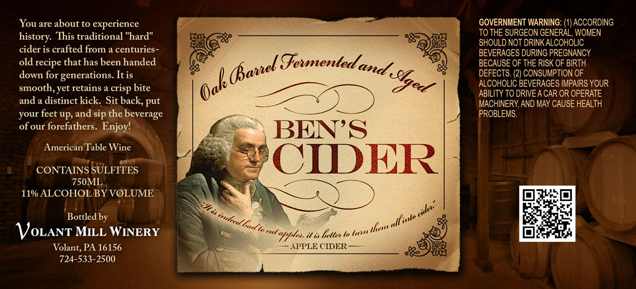 Product Image for Ben's Hard Cider
