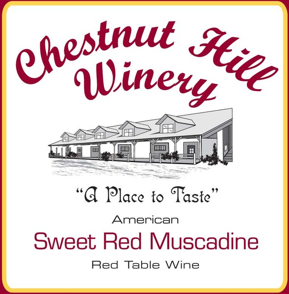 Sweet Red Muscadine