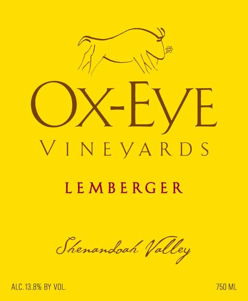 2015 Ox-Eye Vineyards Lemberger