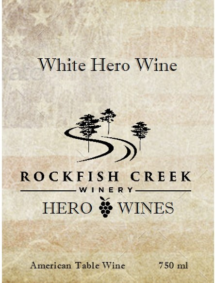 2018 White Hero Wine