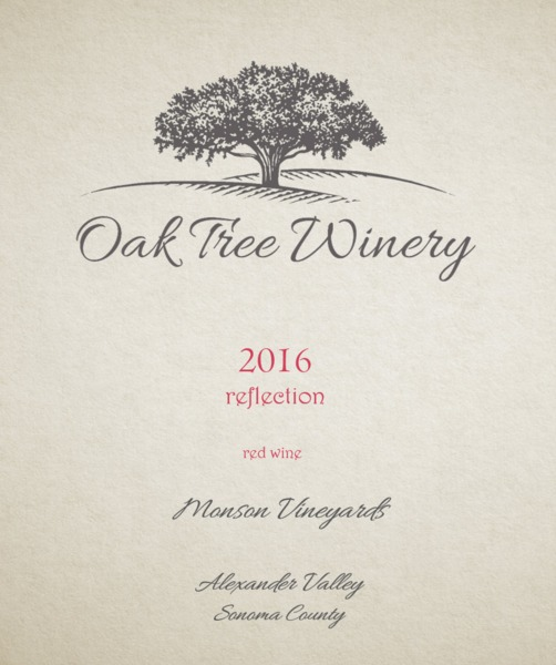 Product Image for 2016 Reflection - Red Blend