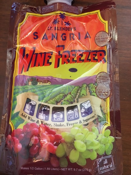 Product Image for Sangria Wine Freezer