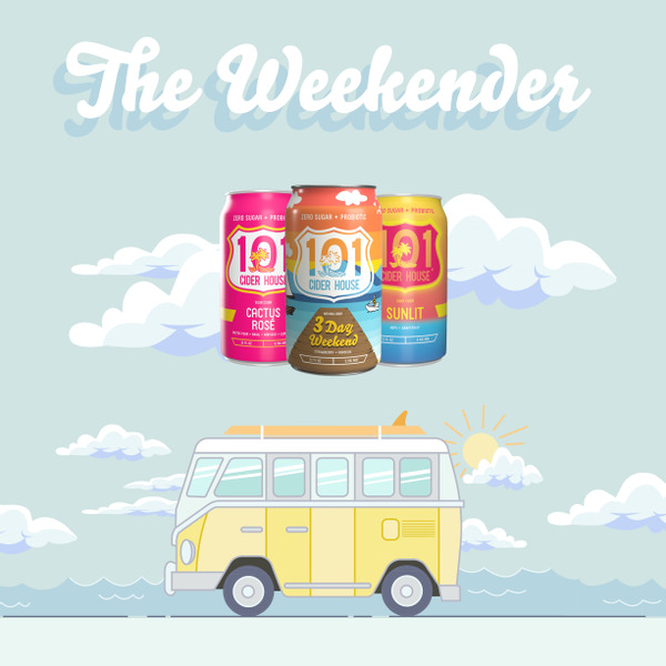 The Weekender Mixed Case