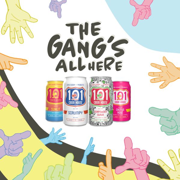 The Gang's All Here Mixed Case