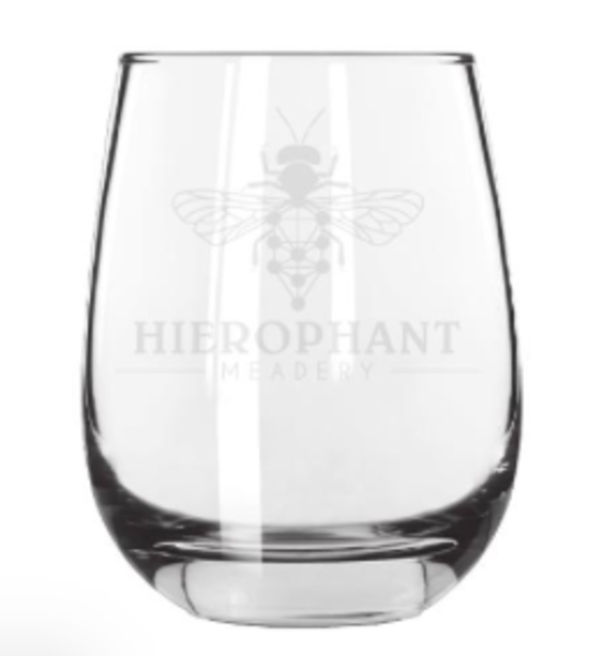Hierophant Collector's Stemless Wine Glass