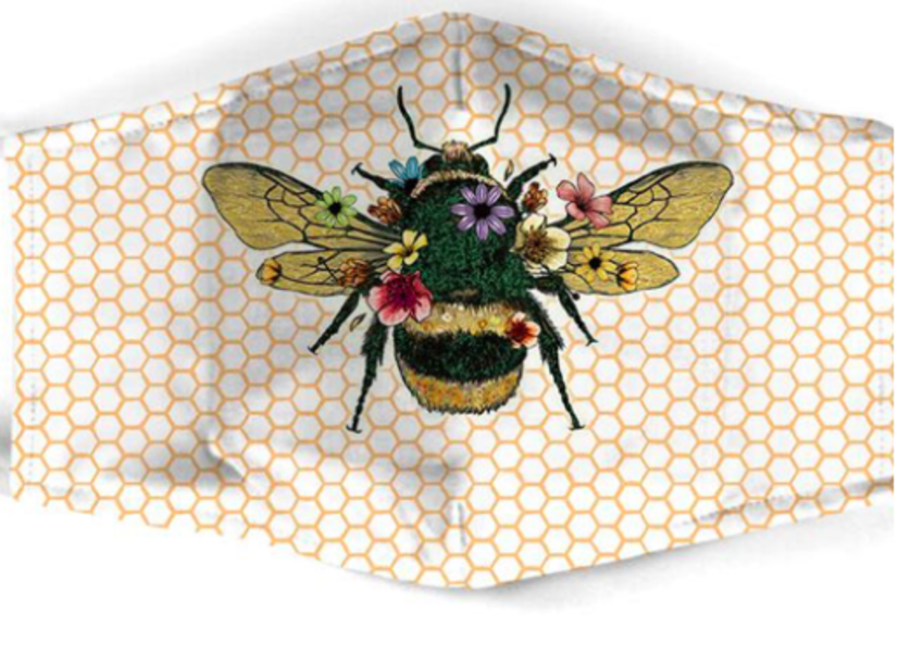 Bee Mask - White