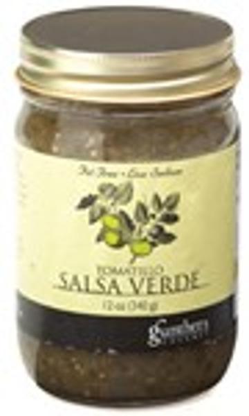 Gunther's Tomatillo Salsa Verde
