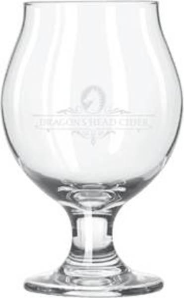 Dragon's Head Cider 13 Oz Logo Glass