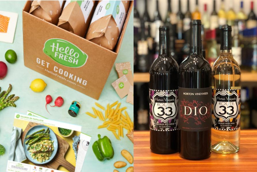 Horton Virtual Wine Dinner with Hello Fresh