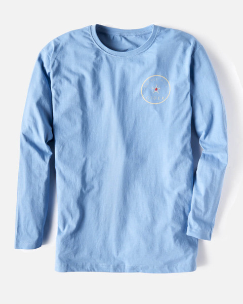Castle Hill Cider Blue Men's Tee - Small