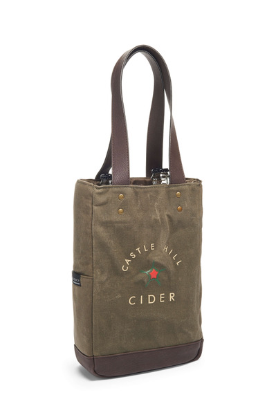 Insulated 2-Bottle Cider Cooler Bag