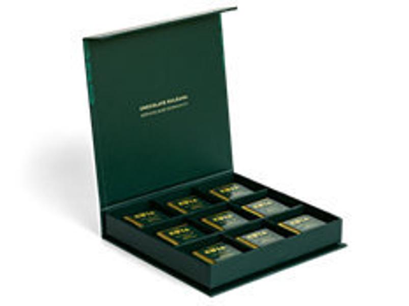 18 Piece Gift Box (90g)--All Dark Chocolate