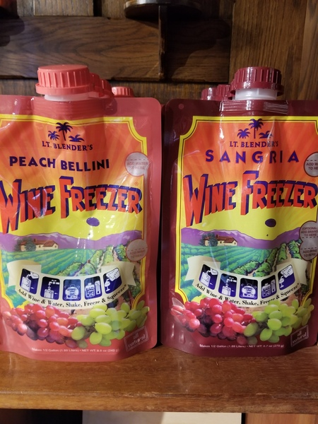 Peach Bellini Wine Freezer Mix