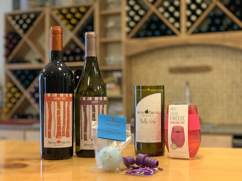 Pampered Wino Gift Set