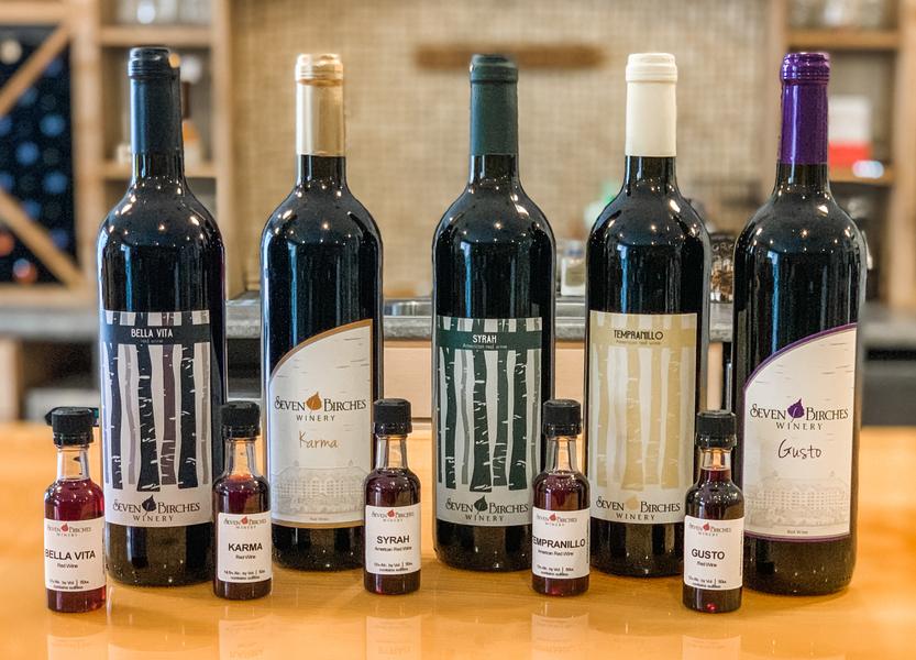 Whites/Reds/Rosé Mix - Wine Tasting Flight