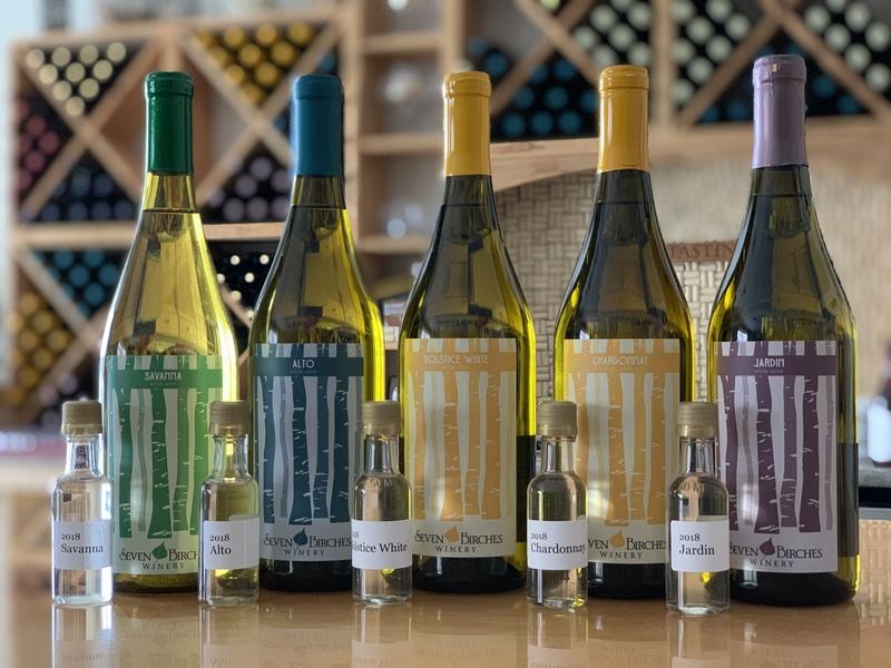 Dry Whites -  Wine Tasting Flight