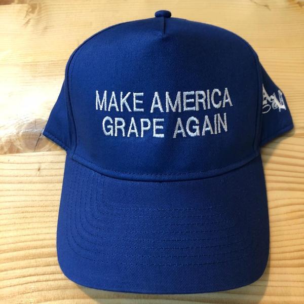 4cbad80e541 Make America Grape Again Hat from Amoritas Vineyards