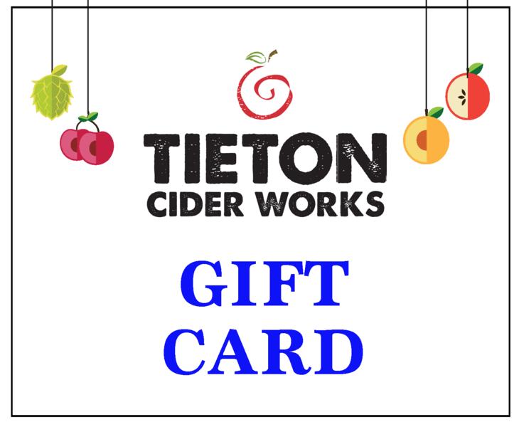 Tieton Gift Certificate