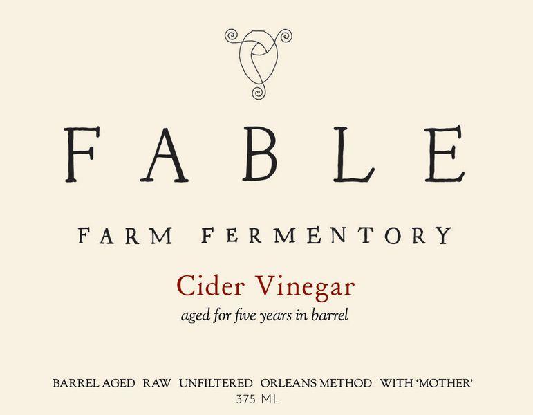 5 Year Barrel Aged Cider Vinegar 750mL (8 yr old)