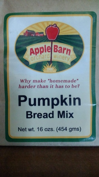 Product Image for Pumpkin Bread Mix