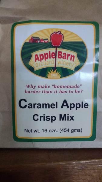 Caramel Apple Crisp Mix