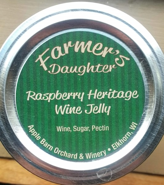 Product Image for Wine Jelly - Raspberry Heritage