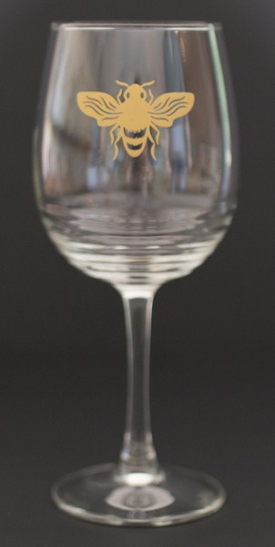 Product Image for Queen's Reward Bee Glass