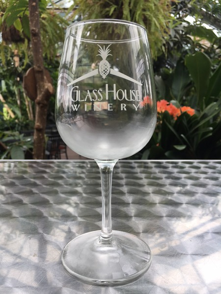 Product Image for Stemmed Logo Glass