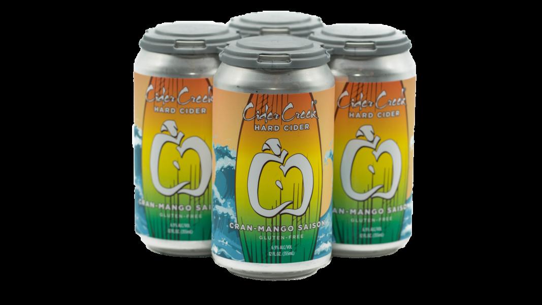 Cran Mango Saison Hard Cider
