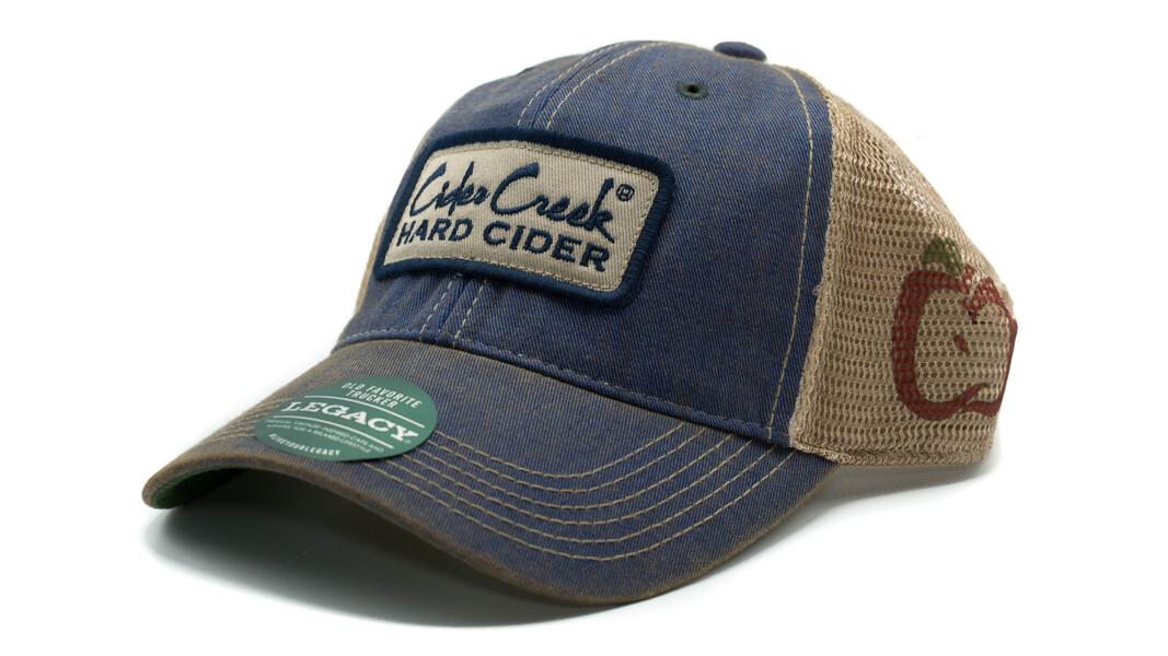 Cider Creek Trucker Hat Blue
