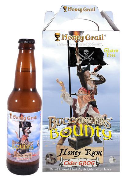 Product Image for Buccaneers' Bounty: Honey Rum Cider Grog (Case of 12 bottles)