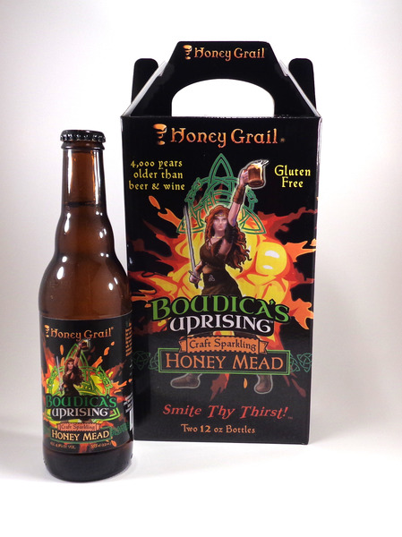 Product Image for Boudica's Uprising: Sparkling Honey Mead (Case of 12 bottles)