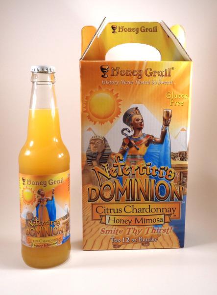 Product Image for Nefertiti's Dominion: Citrus Chardonnay Honey Mimosa (Case of 12 bottles)