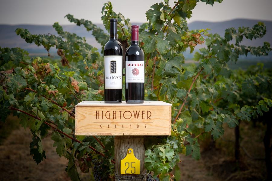 Hightower Merlot and Murray Red Wine