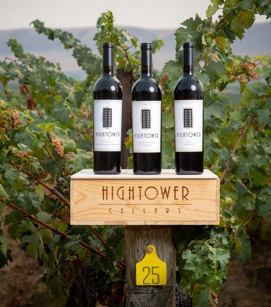 Hightower Estate Blend, Cabernet Sauvignon and Merlot