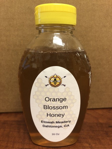 Product Image for 16 oz Orange Blossom Honey