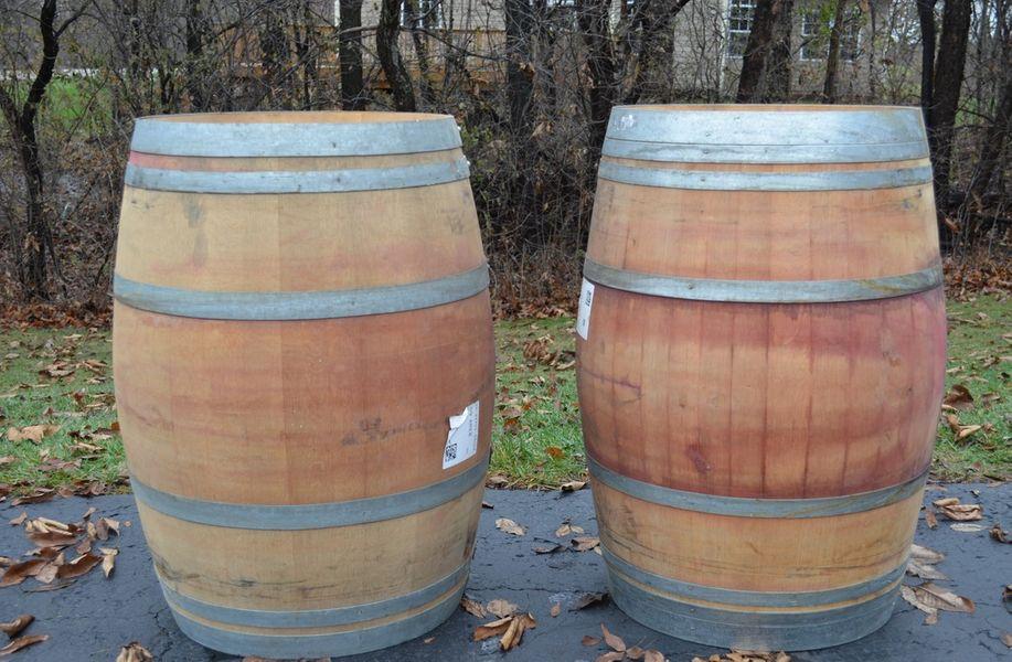 Full Wine Barrel