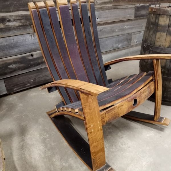 Adirondack Rocking Chair - 2