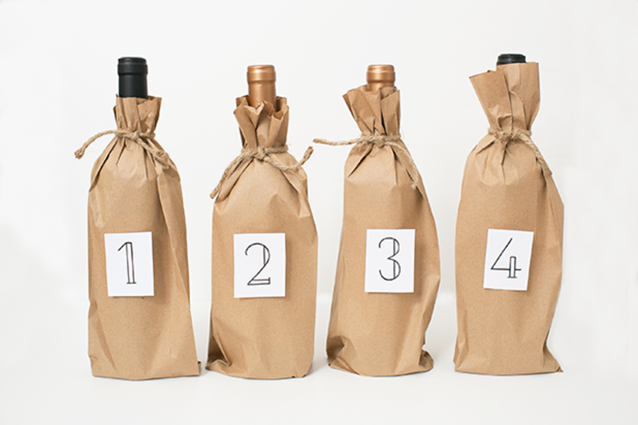 Product Image for DRINKWELL - Blind Wine Tasting 4 Pack