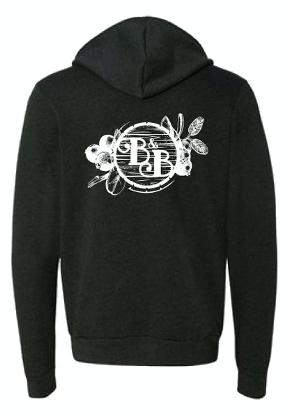 Botanist and Barrel Hoodie unisex- Size XL