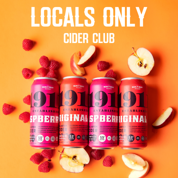 Locals Only - Cider Pickup Club 1/2 Case