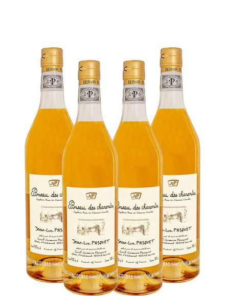 Pineau des charentes ( Cognac Wine) 4 - Pack Wine Bundle