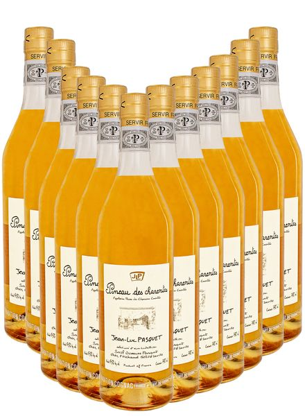 Pineau des charentes ( Cognac Wine) 12 - Pack Wine Bundle