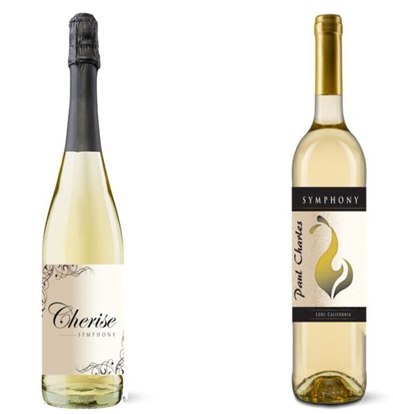 Charles Wine Company - Sparkling Symphony and White Symphony - 2 Pack Wine Bundle