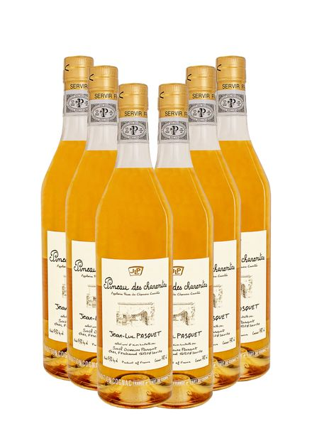 Pineau des charentes ( Cognac Wine) 6 - Pack Wine Bundle